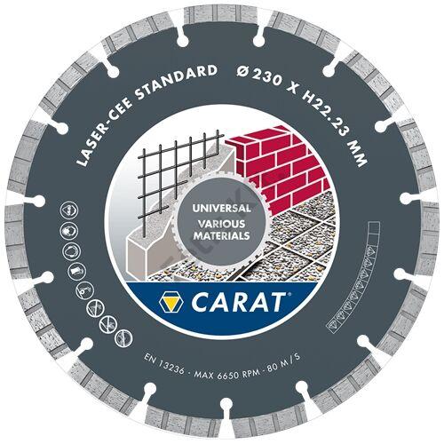 Carat gyémánt vágókorong 230x22.2mm univerzális standard