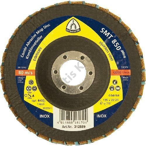Klingspor lamellás csiszolótányér SMT850+ 125mm K60