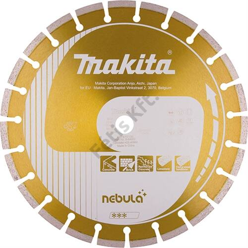 Makita gyémánt vágókorong 400x25.4 NEBULA