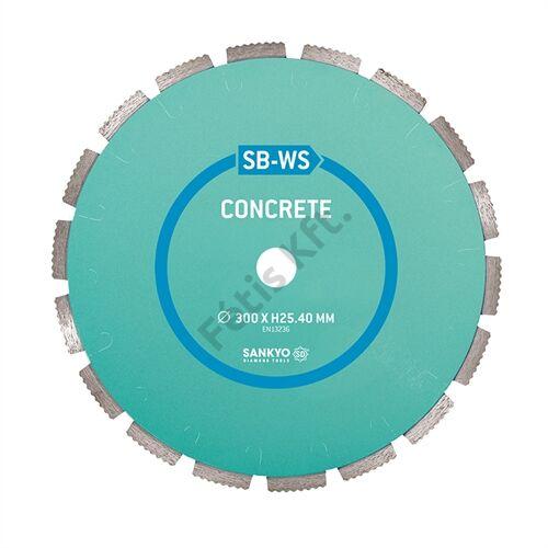 Sankyo gyémánt vágókorong 300x25.4mm beton