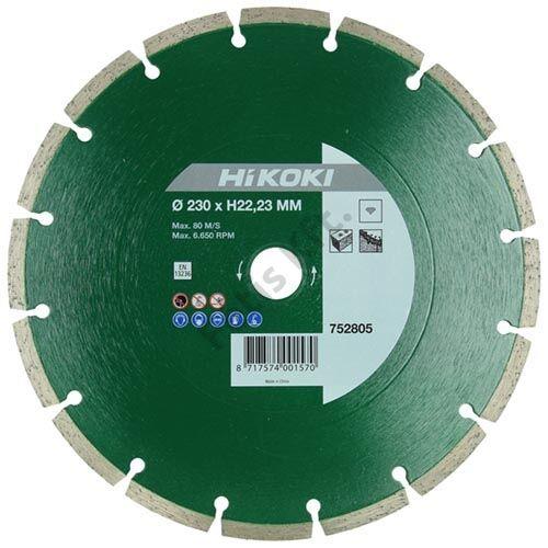 Hitachi-Hikoki gyémánt vágókorong 180x22.2x7mm
