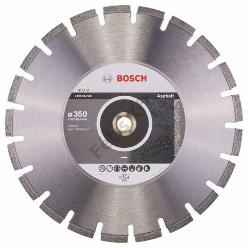 Bosch vágókorong, gyémánt  350x20/25.4 aszfalthoz