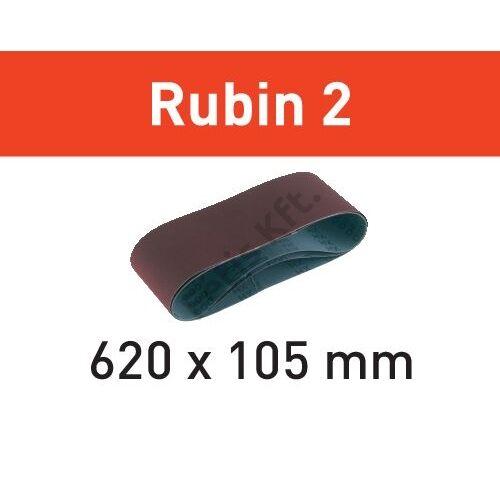Festool csiszolószalag Rubin2 L620x105-P100 RU2/10 (10db/cs)