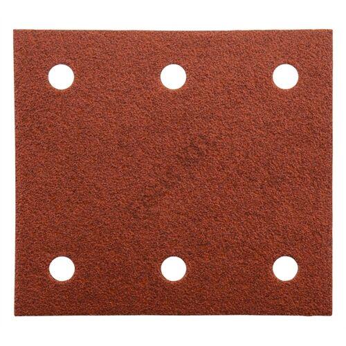 Makita tépőzáras csiszolópapír 114x102 K80 piros 10db