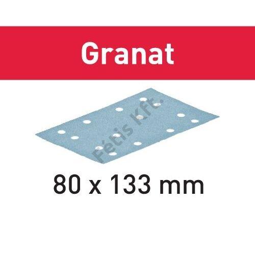 Festool csiszolócsíkok Granat STF 80x133 P400 GR/100 (100db/csomag)
