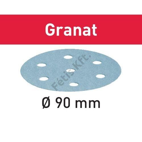 Festool csiszolópapír Granat STF D90/6 P220 GR/100 (100db/karton)