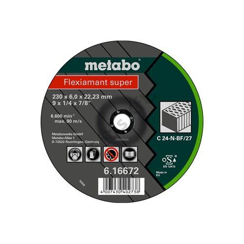 Metabo csiszolókorong Flexiamant super 125x6.0x22.23 kő, SF 27