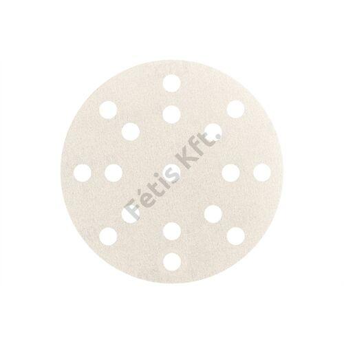Metabo tépőzáras csiszolólap 125 mm P400, festék, multi-hole 50 db