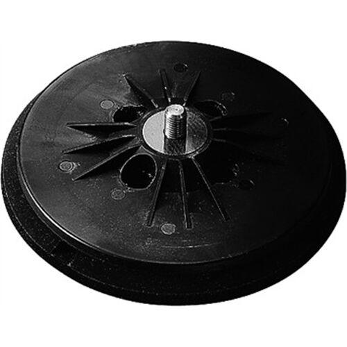 Fein tépőzáras gumitányér 125mm lyukasztott, közepes