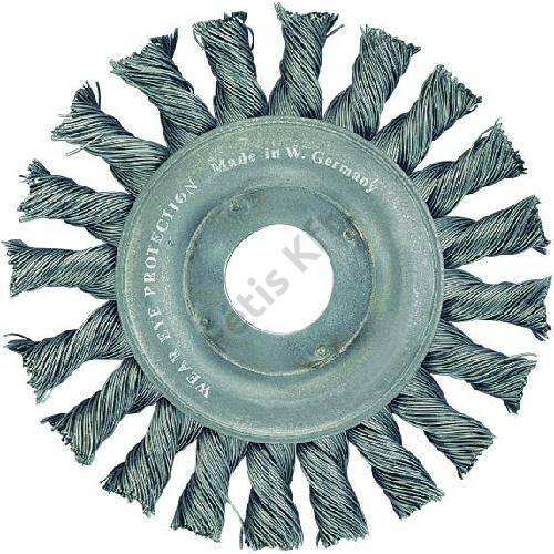 Format körkefe fonott acéldrót 0.5mm 178mm