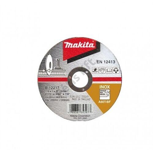 Makita vágókorong INOX 115x1.2mm A60T