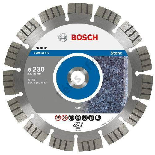 Bosch vágókorong, gyémánt 230mm HPP kő