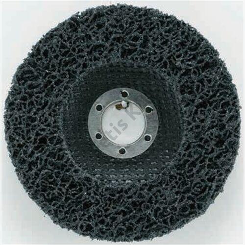 Makita tisztítótárcsa fekete üvegszálas 125mm