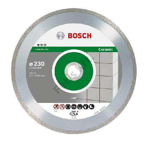 Bosch vágókorong, gyémánt 125 FPE