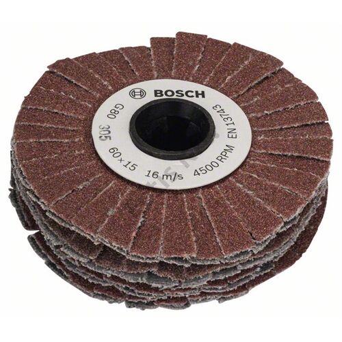 Bosch csiszolóhenger (rugalmas) 15 mm P80