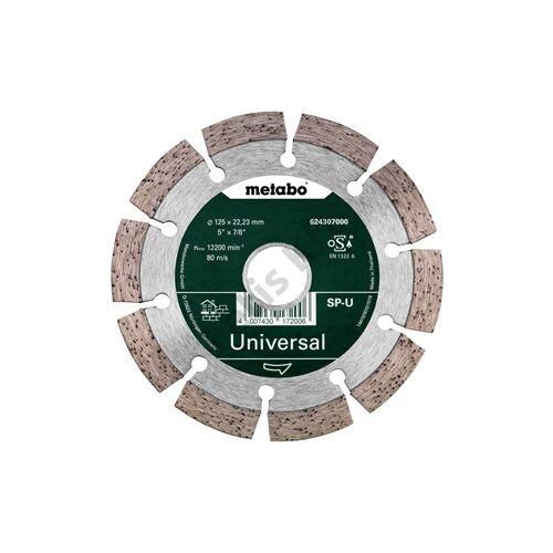 Metabo gyémánt vágókorong 125x22.23mm SP-U