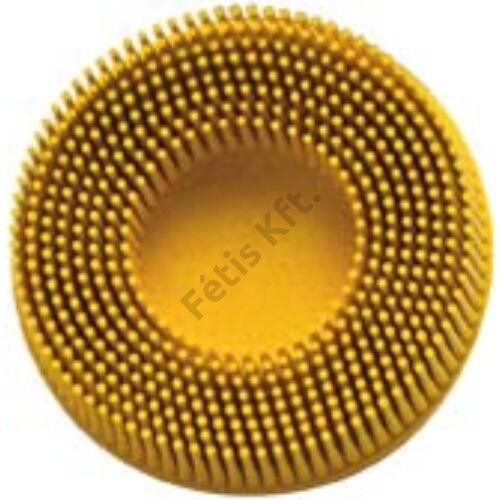 3M ROLOC kompakt csiszolótárcsa 76.2mm K 80 (sárga)