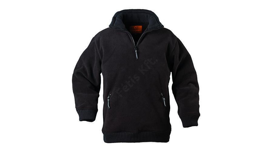 9443c1cf76 Munkavédelmi pulóver ANGARA fekete XXL belebújós Katt rá a felnagyításhoz