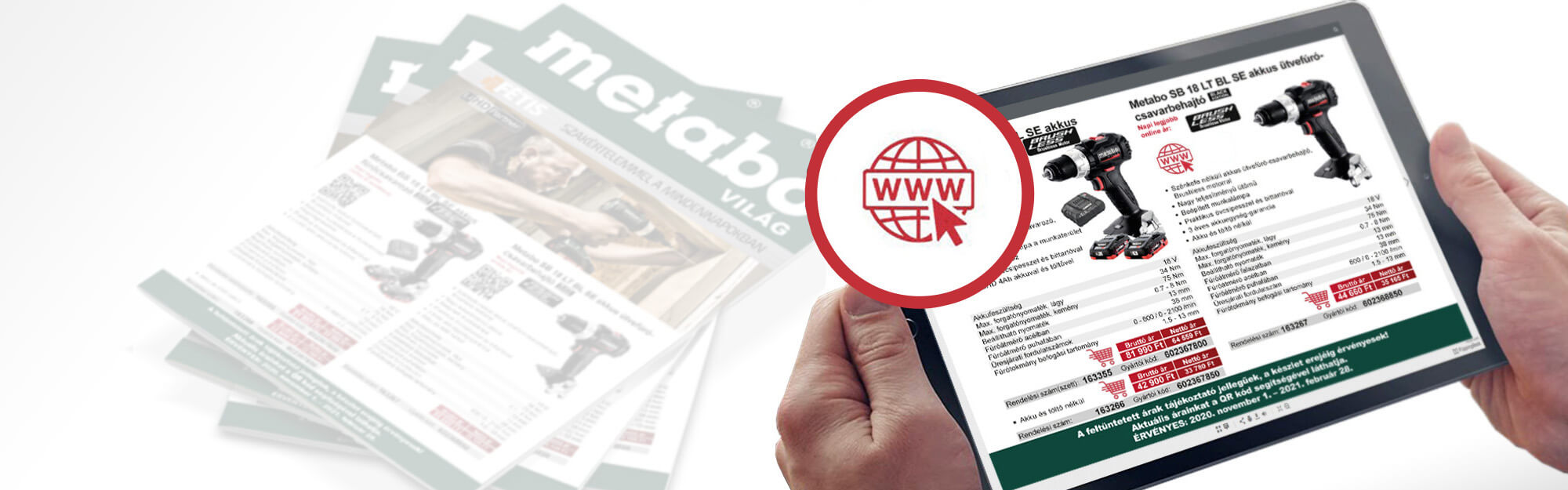 Megjelent az új Metabo Világ kiadványunk!